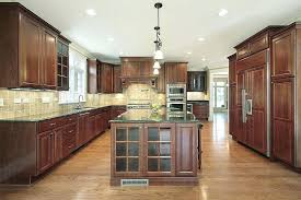 kitchen with light wood cabinets dark wood floors light oak cabinets www redglobalmx org