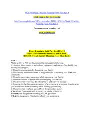 hcs 446 week 5 facility planning floor plan part 4 by ujhvf issuu