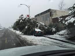lexus ls in snow your photos weather in oregon kval