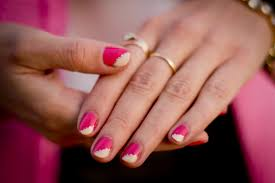 cute pink and white nail designs trend manicure ideas 2017 in