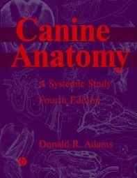 Dog Anatomy Book Canine Anatomy Donald Adams 9780813812816