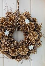 pine cone wreath diy pine cone wreath no glueing or wiring click to read this