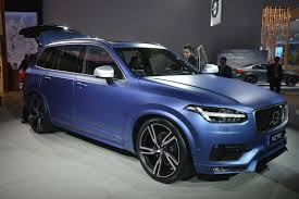 volvo u0027s 2016 xc90 r design makes north american debut in a cool