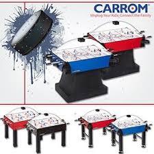 carrom air hockey table amazon com carrom 415 super stick hockey table dome hockey