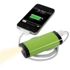 the one year smartphone backup battery 2400 mah hammacher