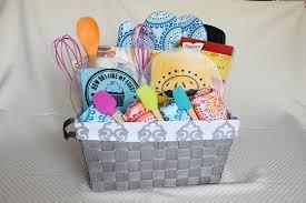 kitchen gift baskets diy colorful kitchen gift basket a