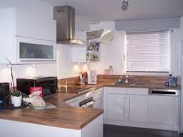 deco cuisine blanc et cuisine blanche et bois luxury stunning deco cuisine blanc et bois