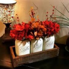 Cheap Fall Decorations Fall Leaf Mason Jar Candle Holder 35 Diy Fall Harvest