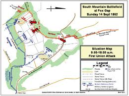 Stone Mountain Map Hardtack And Coffee Field Trip To Fox Gap South Mountain Maryland