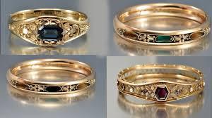 gem stones rings images Single precious stone 22 ct gold rings semi precious gemstones jpg