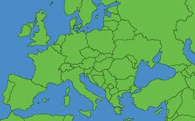 Simple Map Of Europe by Maps