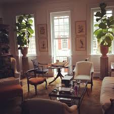 charleston sc living room of historic home fall light drawing