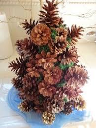 louisiana how to make a pine cone tree food