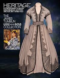 Gone With The Wind Curtain Dress Vivien Leigh U0027s U0027gone With The Wind U0027 Dress Sold At Auction For