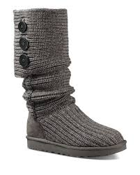 womens boots like uggs like snuggling up in your favorite cardigan ugg s nubby knit