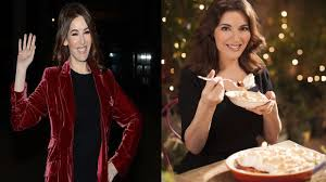 nigella lawson shows off figure on irish talk show youtube