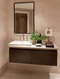 bathroom sink designs to take advantage of floating vanities to make bathrooms spacious