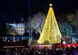 national tree lighting ceremony photos national christmas tree lighting ceremony wtop