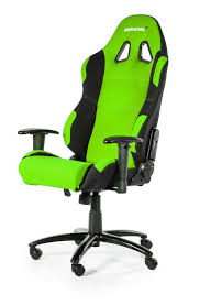 akracing prime gaming chair black green wrgamers akracing game
