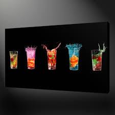 colourful drinks kitchen art canvas print wall design ready to colourful drinks kitchen art canvas print wall design ready to hang inside awesome free kitchen design templates