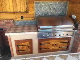 outdoor kitchen cabinet doors diy outdoor kitchen diy project cedar by ricky custom cabinet