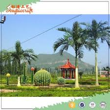 2016 the best factory price artificial decorative royal palm trees