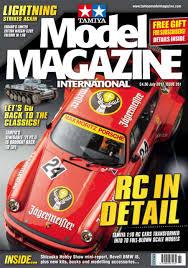 Radio Control Model Boat Magazine Tamiya Model Magazine International Magazine Issue 261 July 2017