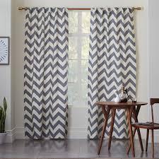 Chevron Style Curtains Best 25 Grey Chevron Curtains Ideas On Blue Pattern Home