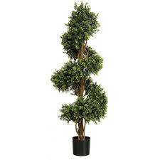 Lollipop Topiary Tree Artificial Outdoor Plants Boxwood Hedges And Artificial Topiary Trees