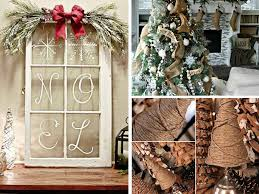 In Home Christmas Decorating Ideas by 21 Easy Diy Christmas Decoration Ideas Rustic Style