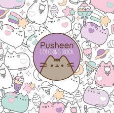 pusheen cat coloring book adults kids u2013 good cat gifts