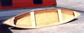 wood boats you can buildbertaut pirogues pinterest wood