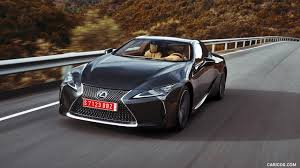 lexus supercar hybrid 2018 lexus lc 500 color caviar front hd wallpaper 40