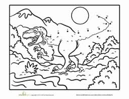 preschool dinosaurs coloring pages u0026 printables education com