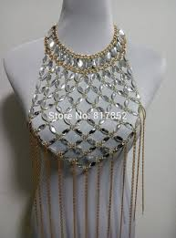 fashion necklace gold images New style fashion women plastic crystal beads chains unique gold jpg