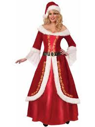 mrs santa claus costume mrs claus costumes christmas and costume anytimecostumes