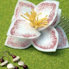 mulan hair comb lotus blossom hair comb disney family