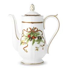 Coffee Pot holiday coffee pot in porcelain co
