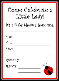 ladybug baby shower supplies home party theme ideas