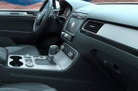 volkswagen touareg interior new 2015 volkswagen touareg uk pricing cleaner tdi models announced