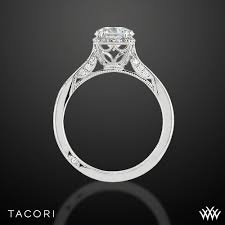 tacori dantela tacori 2620rdp dantela crown diamond engagement ring 2524