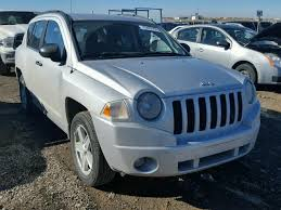 jeep compass calgary 1j8ft47017d273393 2007 silver jeep compass on sale in ab