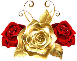 gold roses gold and roses png clip image gallery yopriceville