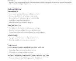 server resume inspiring idea sample server resume 1 unforgettable
