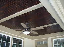 stained beadboard ceiling for front porch outdoors pinterest