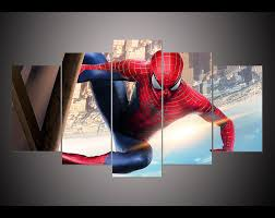home decor spider man poster wall art picture for living room kids