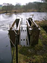 file milton mill sluice river ayr stair jpg wikimedia commons