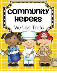 community helpers cut paste worksheet 7 community helpers cut