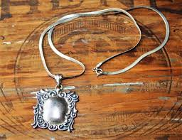 vintage silver pendant necklace images Silver vior italy 925 fgs pendant necklace vintage silver etsy jpg