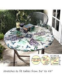 60 inch round elastic table covers fitted plastic table cloth inch round plastic elastic table covers